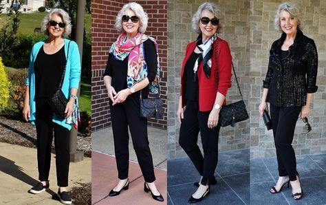 10 стильных образов для женщин в возрасте