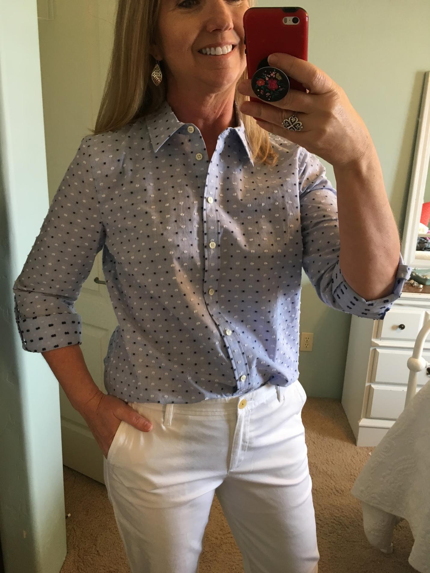Заправляем рубашку в брюки