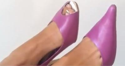 Как превратить старые туфли в модные, с открытым носом