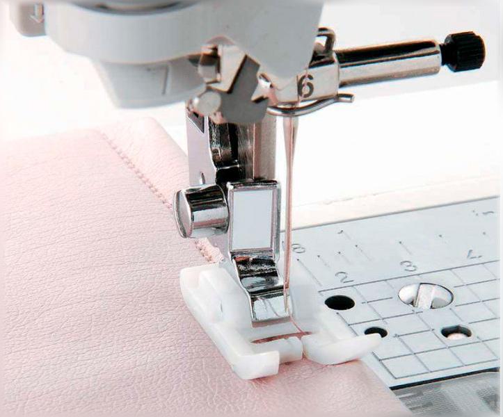 Для чего нужна тефлоновая швейная лапка